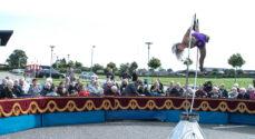 Underholdende cirkusforestilling hos Amaliehaven