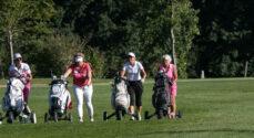 Billeder: De sidste lyserød golfslag