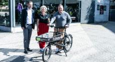 'Vores Sønderborg' træder i pedalerne for at bringe varer ud til kunderne