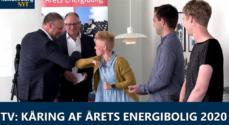 TV: Kåring af Årets Energibolig 2020