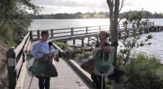 Handicapvenlig fiskebro indviet på Kær Vestermark