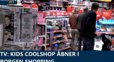 TV: KiDS Coolshop åbner i Borgen Shopping