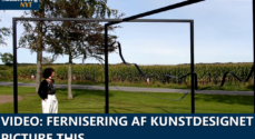 VIDEO: Fernisering af kunstdesignet Picture.This