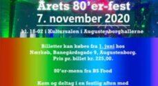 '80er-festen i Augustenborg flyttes til foråret