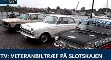 TV: Veteranbiltræf på Slotskajen