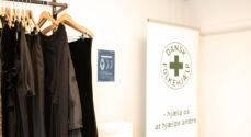 Billeder: Snoren til Dansk Folkehjælps genbrugsbutik er klippet
