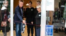 Nu er Dansk Folkehjælps genbrugsbutik åben