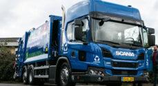 Sønderborgs klimarigtige skraldebiler blev fejret