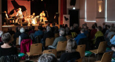 Marc Bernstein havde Sinne Eeg med i Sønderborg Jazzclub