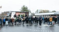 Billeder: Musikskolen spillede live-koncert i skolegården i Hørup