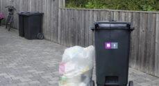 Har du for meget plast til at det kan være i genbrugsbeholderen?