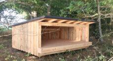 Borgerønske indfriet - shelter står klar til brug ved Augustenborg Fjord