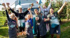 3000 skoleelever fra Sønderborg skal på æblerov