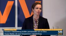 Pressemøde – Ellen Trane Nørby vil være borgmester
