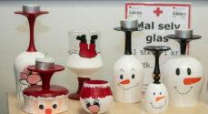 Billeder: Søndagskig i Røde Kors' genbrugsbutik