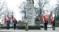 De faldne fra Den Store Krig blev mindet