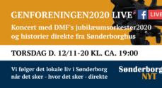 Se Genforeningen 2020 live – direkte fra Sønderborghus