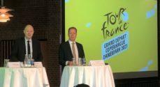 Målstreg for Tour de France på Augustenborg Landevej