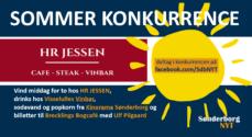 Sommerkonkurrence – vind et gavekort på 1.000 kroner til HR JESSEN
