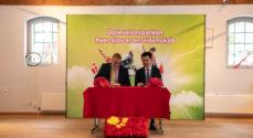 Universe og Kina-virksomhed har skrevet under på en aftale om at samarbejde